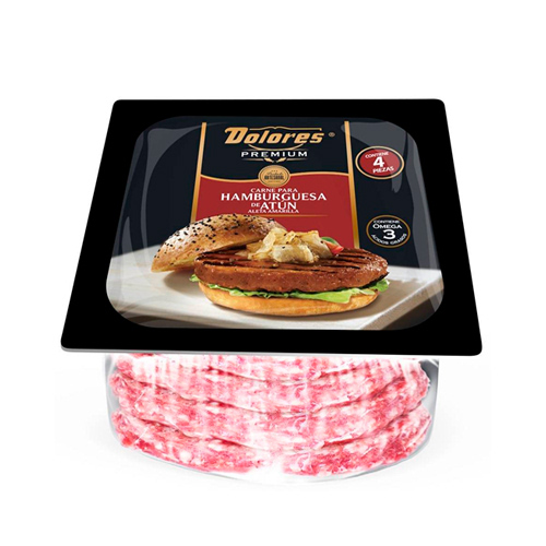 Carne de Hamburgesa de Atún