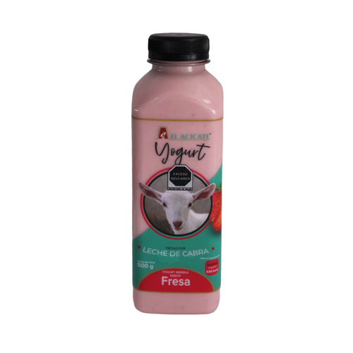 Yogurt de cabra fresa