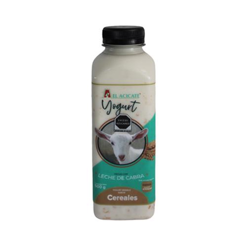 Yogurt de cabra cereales