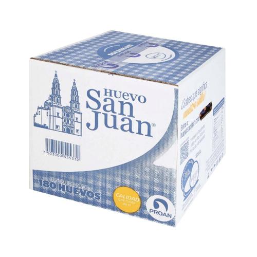 Caja de huevo San Juan (180 pz)