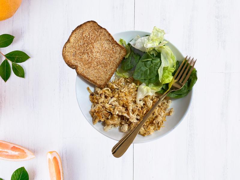 Desayuno proteico al chipotle
